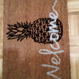 Other - Welcome Pineapple Coir Coconut Fiber Door Mat